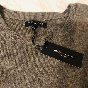 Romeo & Juliet Couture Tops - NWT! Ruffle sleeve sweater dress/tunic!
